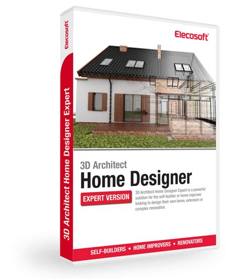 3d Home Design Software Kostenlos 3d Architect Home Designer Expert Software Elecosoft