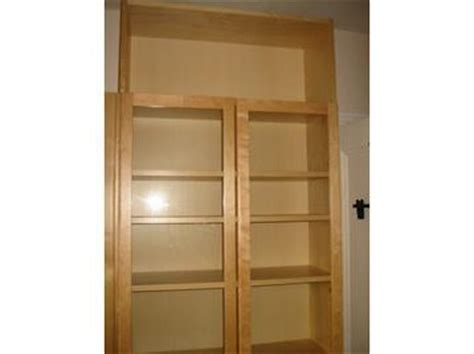 Ikea Billy Bookcase With Glass Doors Ikea Billy Bookcase In Birch Finish With Glass Doors Height Extension Unit Shelves