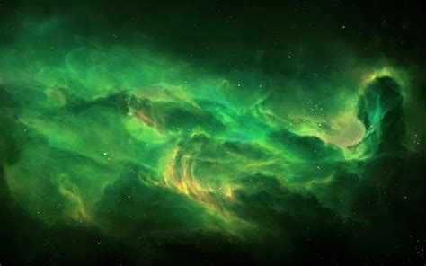 wallpaper space green stellar space hd wallpapers