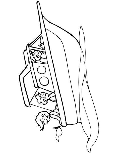 speed boat coloring pages az coloring pages