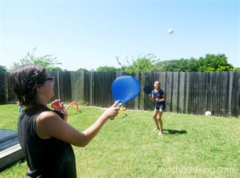 backyard tennis game fun activities for children host your own backyard games