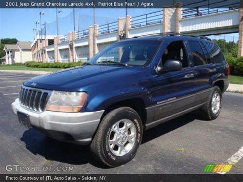 blue jeep grand 2001 patriot blue pearl 2001 jeep grand laredo 4x4