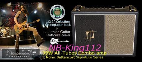 Randall Guitar Ilfier Nb 15 luthier guitar nuno bettencourt signature 1x12 quot combo