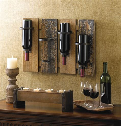 rustic wholesale home decor rustic wall mounted wine rack wholesale at koehler home decor
