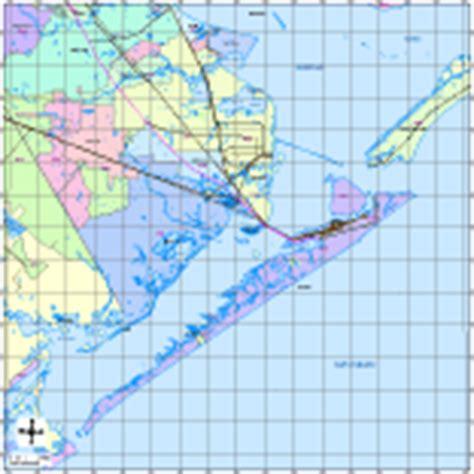 galveston texas zip code map galveston digital vector maps editable illustrator pdf vector map of galveston