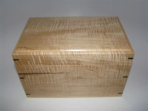 Handmade Memory Boxes - tiger maple and keepsake box 9 25 quot x 6 quot x 5 5