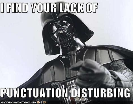 Find Me Memes - i find your lack of faith disturbing know your meme