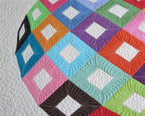 english quilt pattern optical illusion english paper pieced quilt pattern