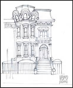 gallery for gt victorian house line drawing pinterest the world s catalog of ideas