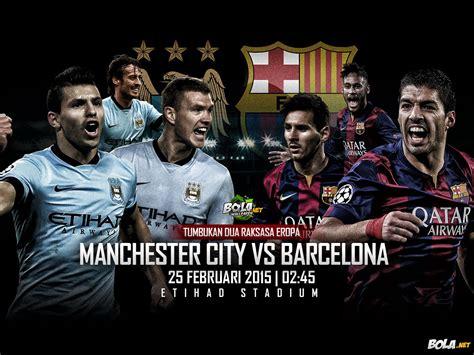 wallpaper barcelona vs manchester city download wallpaper manchester city vs barcelona bola net