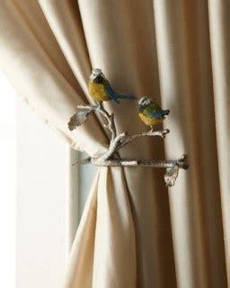 Birds On A Branch Curtain Tie Backs Curtain Tie Back