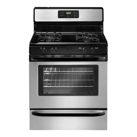 Oven Gas Home Industri frigidaire 30 in 5 0 cu ft gas range with self cleaning