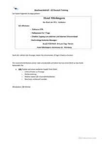 Beschwerdebrief B2 Telc 12 Kostenlose Daf Beschwerdebrief Arbeitsbl 228 Tter