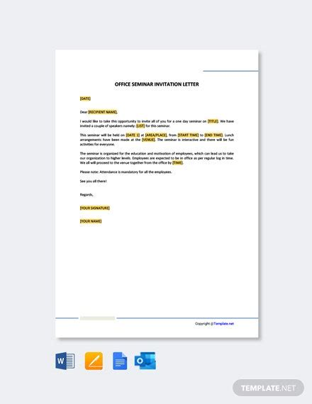 incident report letter office template word