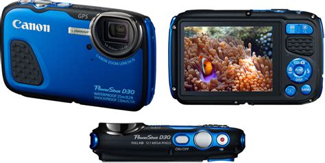 Kamera Canon Powershot D30 canon powershot d30 und powershot s200 produktneuheiten