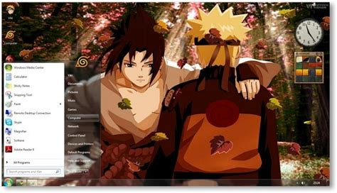 download themes pc anime naruto shippuden theme for windows 7 and windows 8