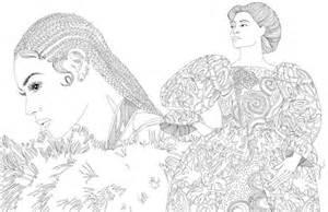 beyonce coloring book these awesome illustrations of beyonc 233 s quot lemonade quot will