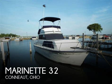 boats for sale conneaut ohio sold marinette 32 boat in conneaut oh 127656