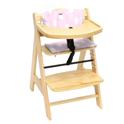 table seat 3 in 1 baby wooden high chair convertible table seat