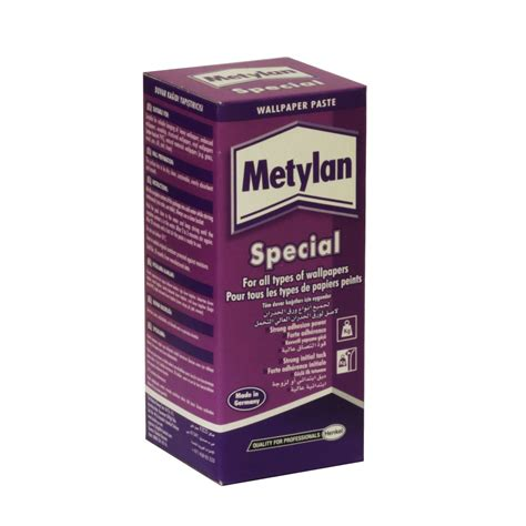 wallpaper edge paste metylan wallpaper adhesive special 200g