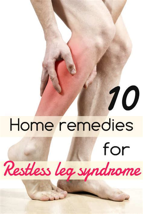 10 home remedies for restless leg