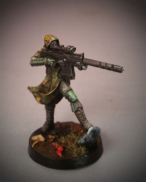 Painting Miniatures by Contrast Miniatures