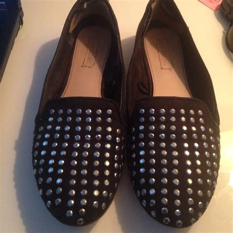 zara studded loafers 81 zara shoes zara trafaluc studded loafers black