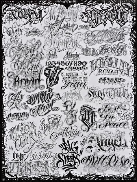 tattoo flash words norm big sleeps boog poster tattoos pinterest cool