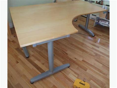 Ikea L Shaped Galant Desk City
