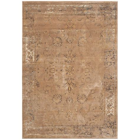 4 x 5 area rugs safavieh vintage taupe 4 ft x 5 ft 7 in area rug vtg117 1662 4 the home depot