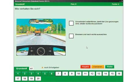 Motorrad F Hrerschein Online Test lern software motorrad f 252 hrerschein im test pc magazin