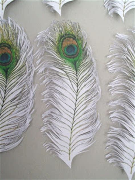 How To Make Peacock Feather With Paper - handmade paper heaven paper peacock feathers pene de