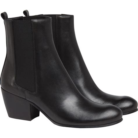 rock n roll boots for agn 232 s b black boots rock n roll in black lyst