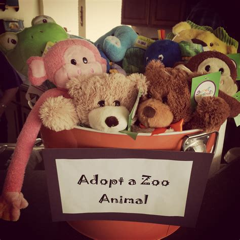 zoo themed birthday party games adopt a zoo stuffed animal zoo theme birthday party