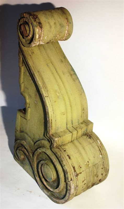 Large Wood Corbels For Sale Pair Of Large Wood Corbels 19th Century For Sale At 1stdibs