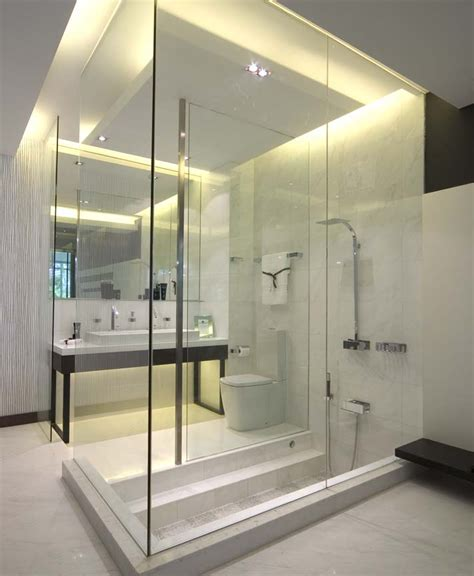 Modern Bathroom Design With Shower Bathroom Design Ideas Sg Livingpod