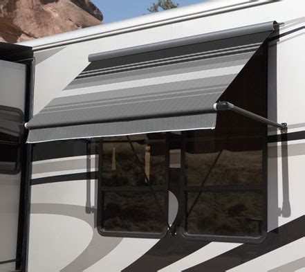 motorhome window awnings sl window awning carefree of colorado