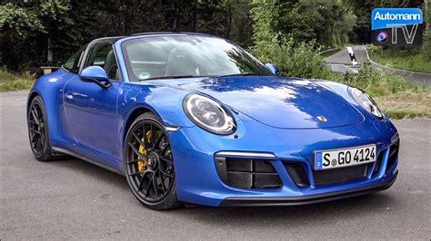 Sound Porsche 911 by Porsche 991 2 Targa 4 Gts 450hp Drive Sound 60fps