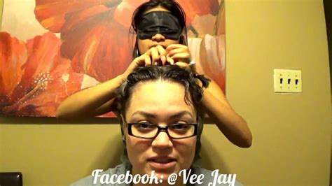 Hairstyles Challenge by Blindfold Hairstyle Challenge