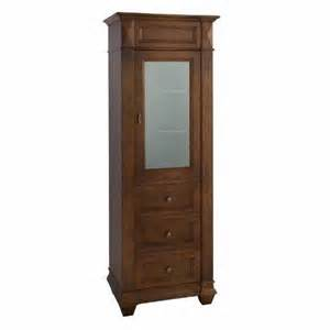 Curio Cabinet In Bathroom Ronbow Collection Linen Tower 674126 Vtr7226 Bath