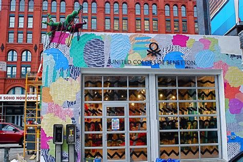 knitting store nyc nyc nyc united colors of benetton pop up shop in soho