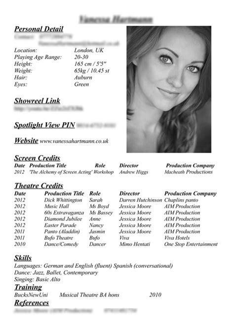 Modelo Curriculum Vitae Fotografo Fare L Attrice Scegliere Il Fotografo Costruire Servizio Fotografico