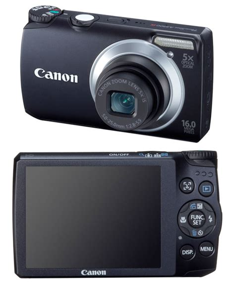 Kamera Canon Power Shoot A2300 canon powershot a3300 is a2200 a1200 and a800 digital cameras news and reviews