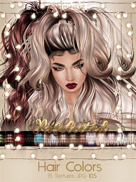 reflected hair colors textures jpg imvu namminliz file sal