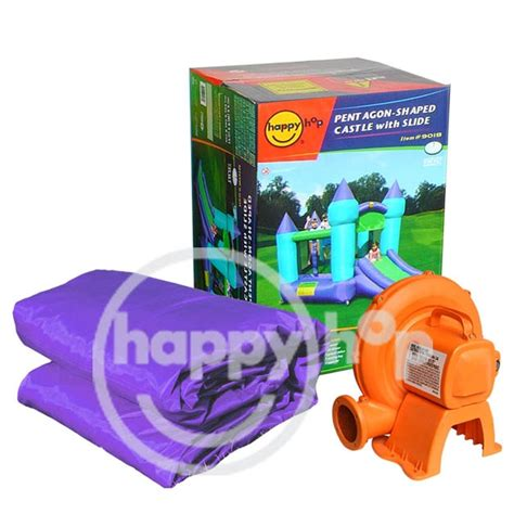 Quality Happy Hop Castle Bouncer 9112 happy hop toys 9201 clown slide and hoop bouncer clown bouncer house with small