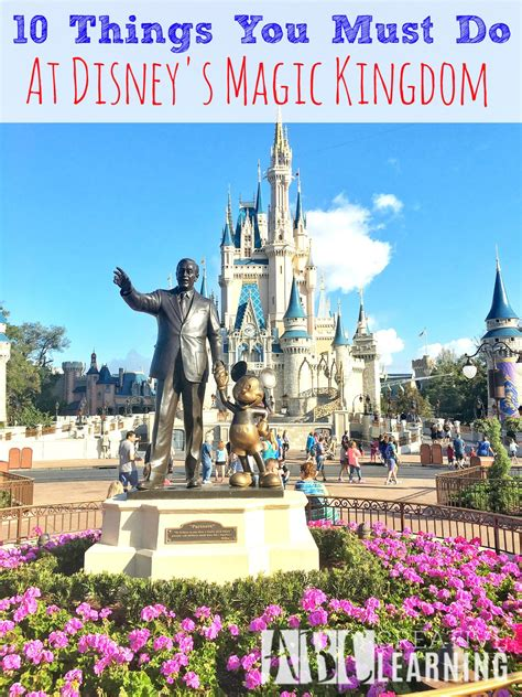 things you must 10 things you must do at disney s magic kingdom simply today