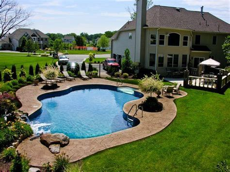 Beautiful Backyard Pools Beautiful Backyard Pools And Spas
