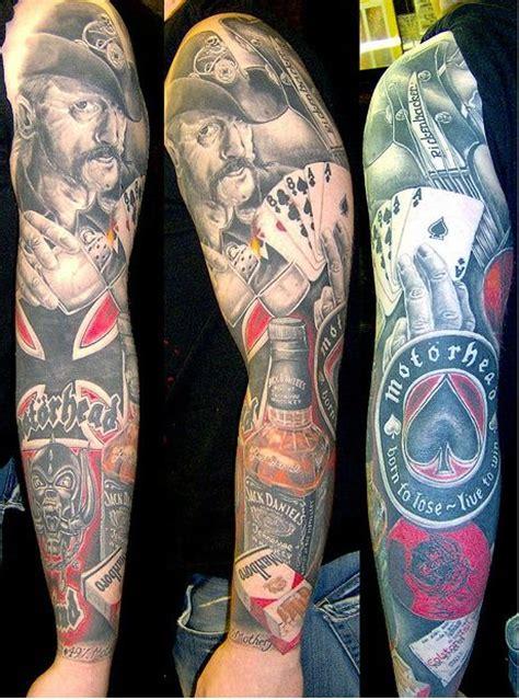 tattoo arm metal motorhead tattoo sleeve amazing tattoo ideas