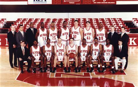 Ncsu Search 1996 1997 N C State S Basketball Team Coliseum Ncsu