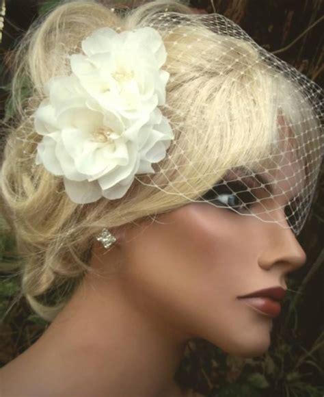 wedding hair using nets wedding fascinator french net veil birdcage veil bridal